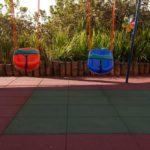 Como a NBR 16071 garante a segurança das crianças no Playground?